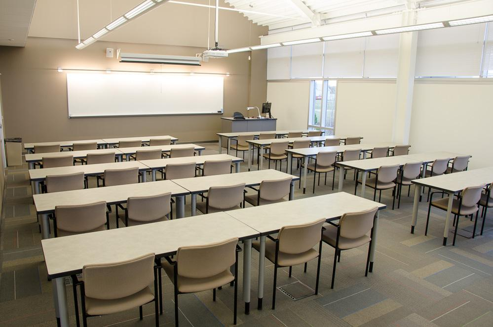 Meeting Room classroom style set up